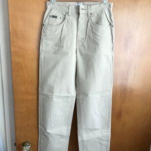 Calvin Klein Jeans Khakis - Juniors (Size 1)